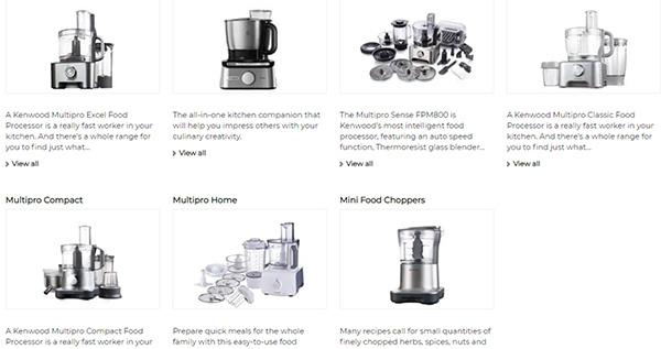 غذاساز کنوود 623